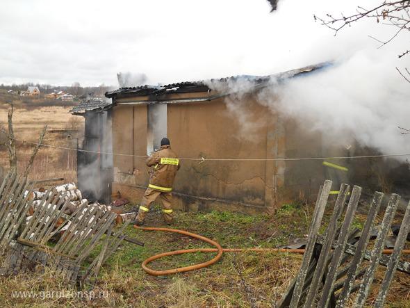 Пожар в Муханово - двое погибших