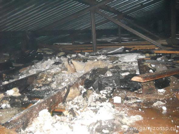 Пожар в магазине стройматериалов