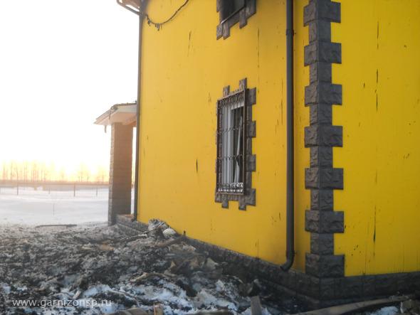 В Семенково сгорел дом