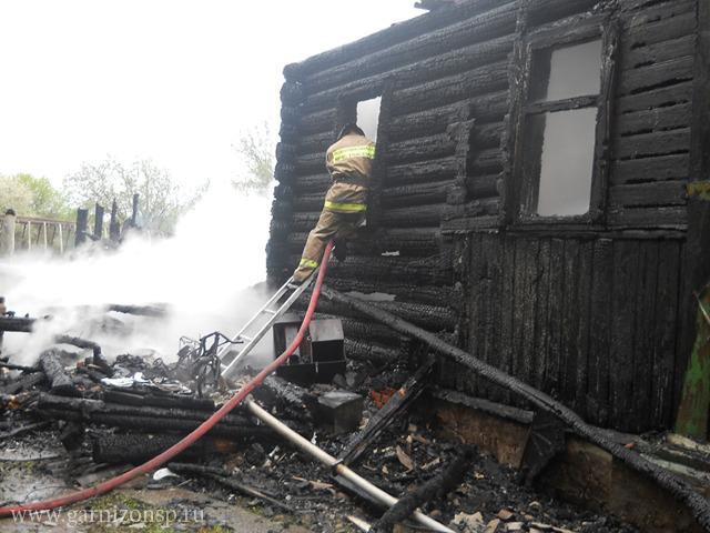 Пожар в Богородском