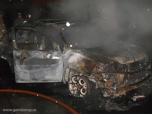 Два пожара - двое пострадавших