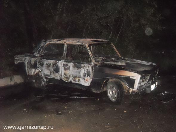 Сгорели дача и автомобиль
