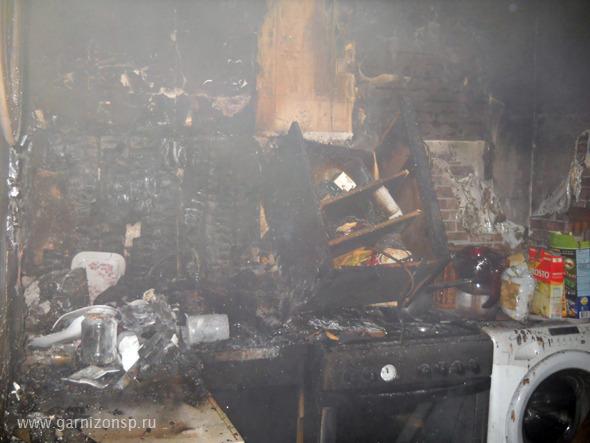 Пожар Новоугличское шоссе