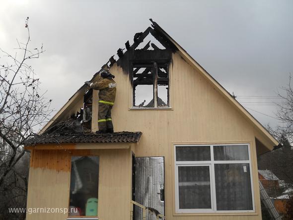 Сгорело два дома