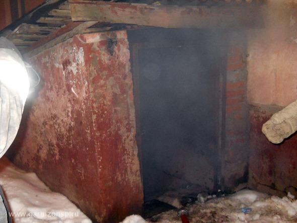 Пожар в подвале на Московском Шоссе