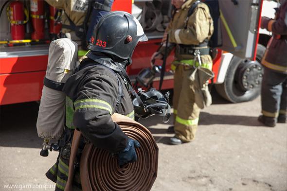 Условный пожар в 16-ой школе