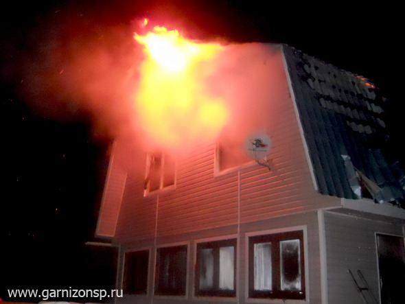 В деревне Филисово сгорела баня