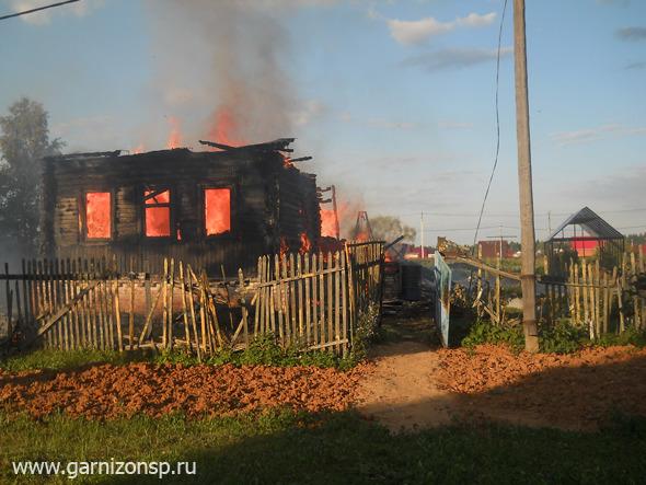 6 пожаров за шесть дней