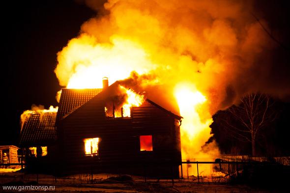 Два пожара в крещенский вечер