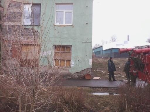Второй пожар в Краснозаводске