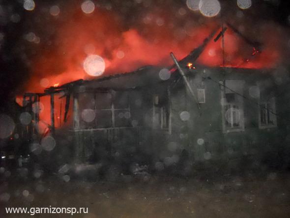 Пожар в Семхозе