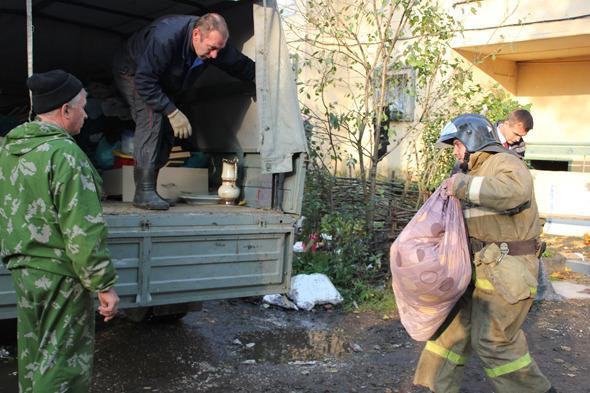 Взрыв газа на улице Кирова