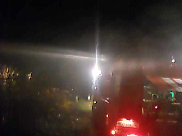 Пожар в деревне Калошино