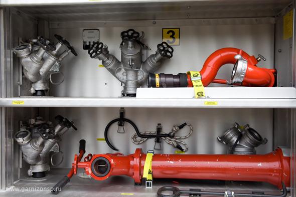 Новая техника на вооружении пожарных