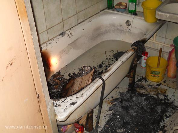 Пожар на Угличе - Квартира