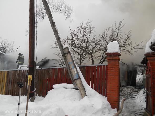 Пожар в Репихово