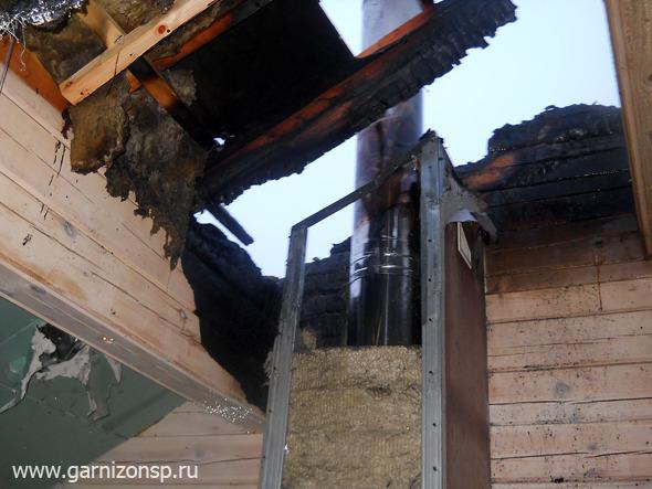 В деревне Суропцево произошел пожар