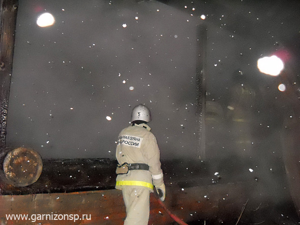 Пожар в СНТ