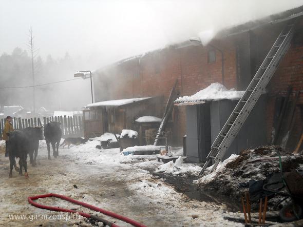 Два пожара за прошедшие сутки