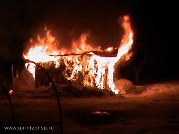 Пожар в Березняках и Сергиевом Посаде