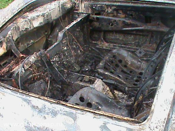 Сгорел автомобиль и подгорела пища