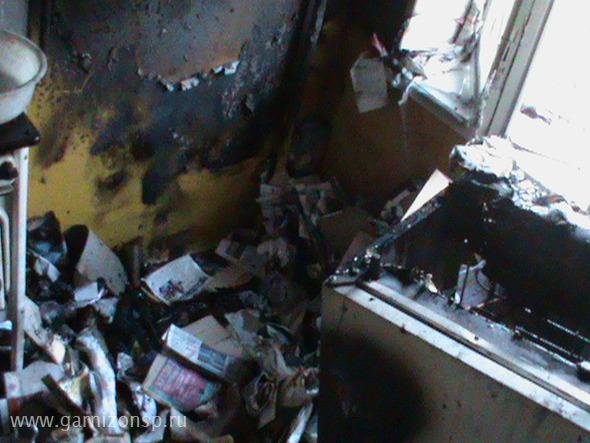 Пожар в Хотьковском проезде