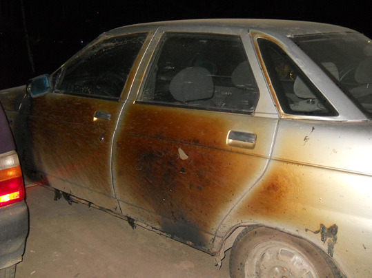 Три автомобиля сгорело в Сергиевом Посаде