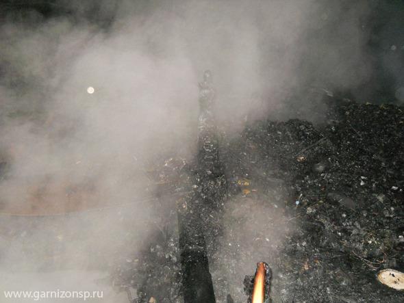 Пожары в частном секторе